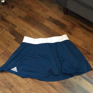 Blue Adidas Tennis Skirt